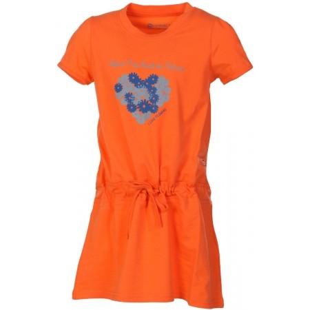 Dívčí šaty - ALPINE PRO TANGERINO