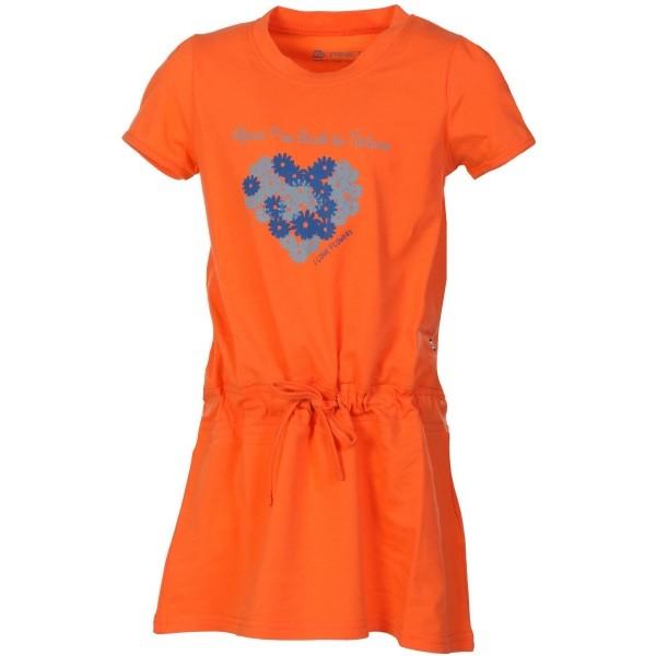 ALPINE PRO TANGERINO  152-158 - Lány ruha