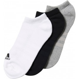 adidas 3S PER NO-SHOW HALF CUSHIONED 3PP - Socks