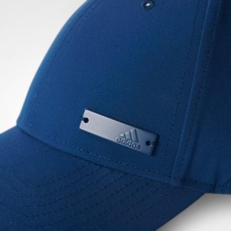 f3ad8fe6ab0 Czapka z daszkiem unisex - adidas 6 PANEL CLASSIC CAP LIGHTWEIGHT METAL  BADGE - 5