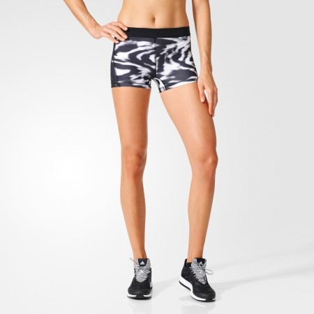 Dámske funkčné kraťasy - adidas TF 3IN SHORT TIGHT PRINT - 3
