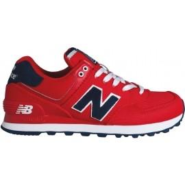 New Balance WL574POR - Dámské boty pro volný čas