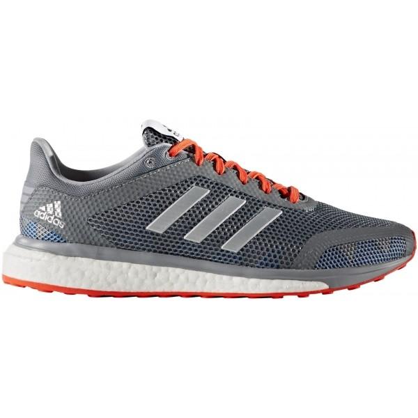 adidas RESPONSE + M szary 10 - Obuwie do biegania męskie
