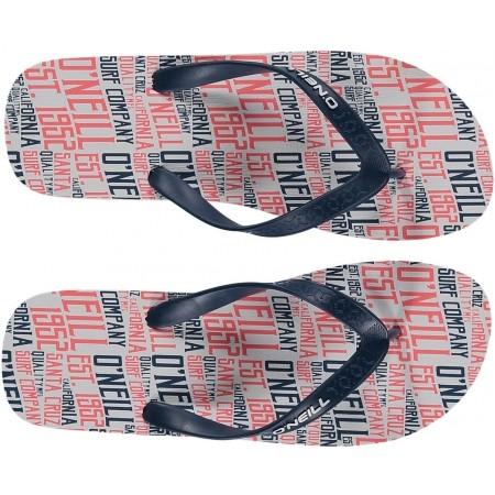 Men's flip-flops - O'Neill FM PROFILE PATTERN FLIP FLOPS