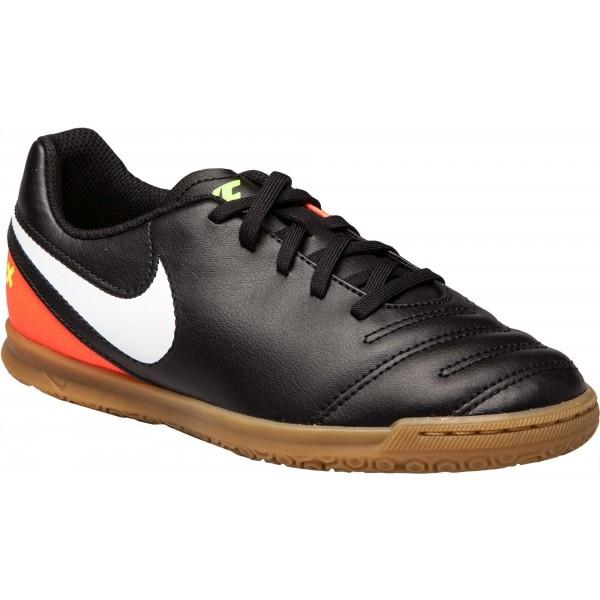 Nike JR TIEMPOX RIO III IC tmavo sivá 6Y - Detské halovky