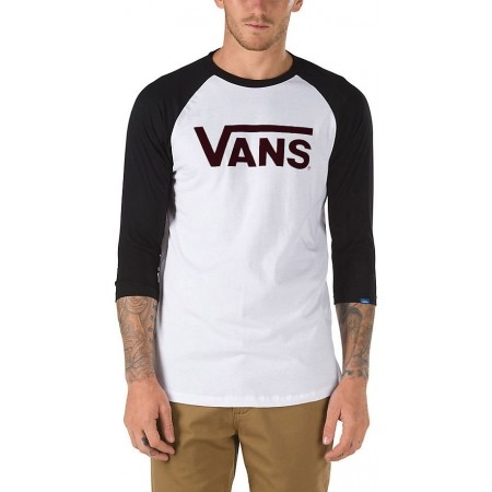 Men's T-shirt - Vans CLASSIC RAGLAN - 1