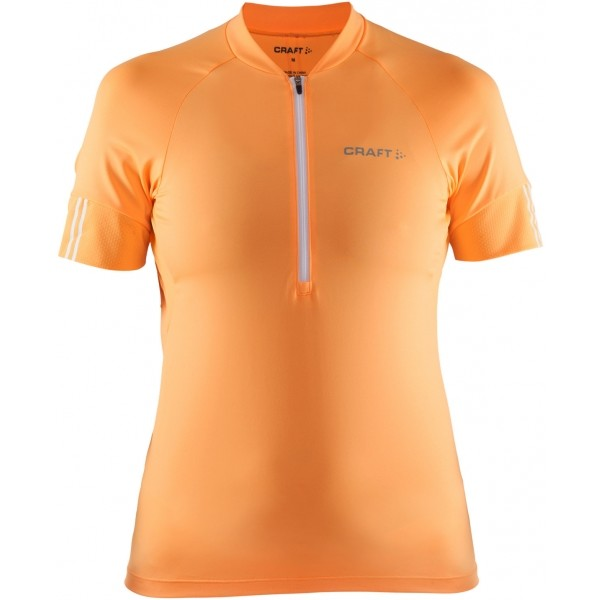 Craft VELO DRES W oranžová L - Dámský cyklodres