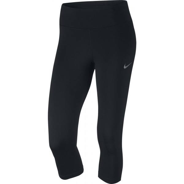 Nike POWER ESSENTIAL RUNNING CAPRI - Dámske športové legíny