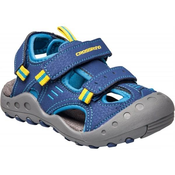Crossroad MAGIC II modrá 25 - Dětské sandály
