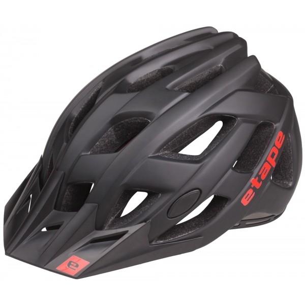 Etape ESCAPE fekete (55 - 56) - Férfi kerékpáros sisak