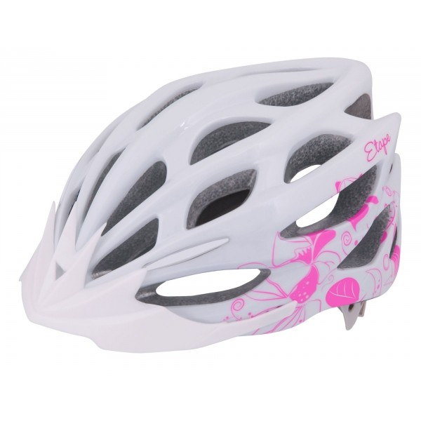 Etape VESPER fehér (58 - 61) - Női kerékpáros sisak