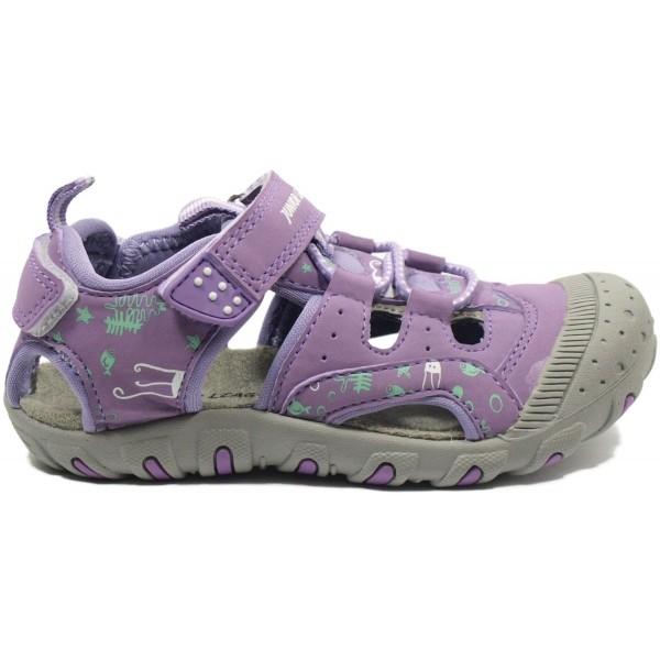 Junior League BERRY fialová 32 - Dětské sandály
