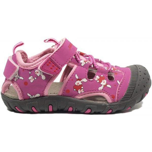Junior League BERRY růžová 23 - Dětské sandály