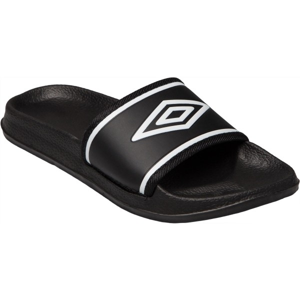 Umbro SHOWER SLIDE JNR černá 3Y - Dětské pantofle