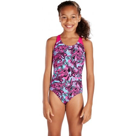 1de720af4 Dievčenské plavky - Speedo ASTROPOP ALLOVER SPLASHBACK - 1