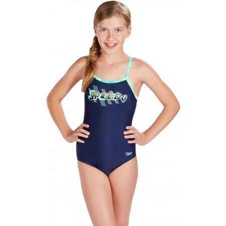 Dievčenské plavky - Speedo SPACE ROCK THINSTRAP MUSCLEBACK - 1