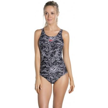 Dámské plavky - Speedo BOOM ALLOVER MUSCLEBACK - 2 01552b148a