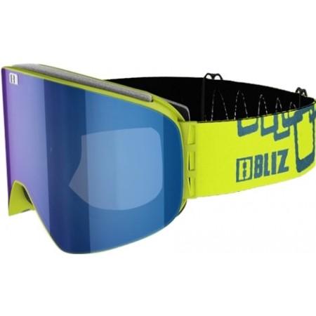 Lyžiarske okuliare - Bliz FLOW LIME GREEN - 5 9bedb154dc0