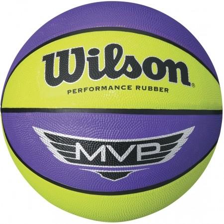 Wilson MVP MINI RUBBER BASKETBALL - Basketbalová lopta