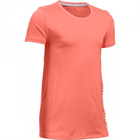 Dívčí triko - Under Armour ARMOUR SHORT SLEEVE - 1