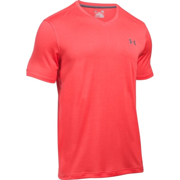 Under Armour TECH V-NECK piros XL - Férfi póló