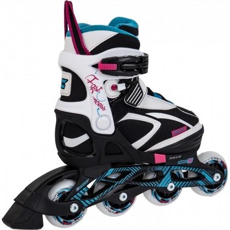 Dievčenské kolieskové korčule - Zealot FPRINCES - 4