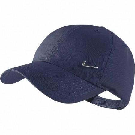 Czapka z daszkiem dziecięca - Nike KIDS METAL SWOOSH CAP - 1