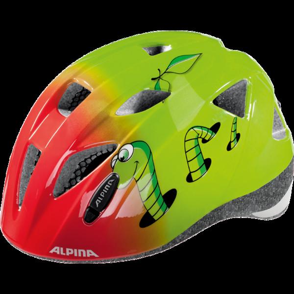 Alpina Sports XIMO piros (45 - 49) - Gyerek kerékpáros sisak