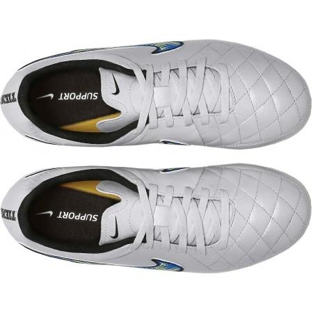 Ghete fotbal de copii - Nike JR TIEMPO GENIO LEATHER AG - 4