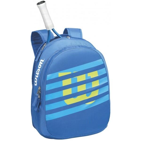 Wilson MATCH JR BACKPACK BL modrá  - Tenisový batoh
