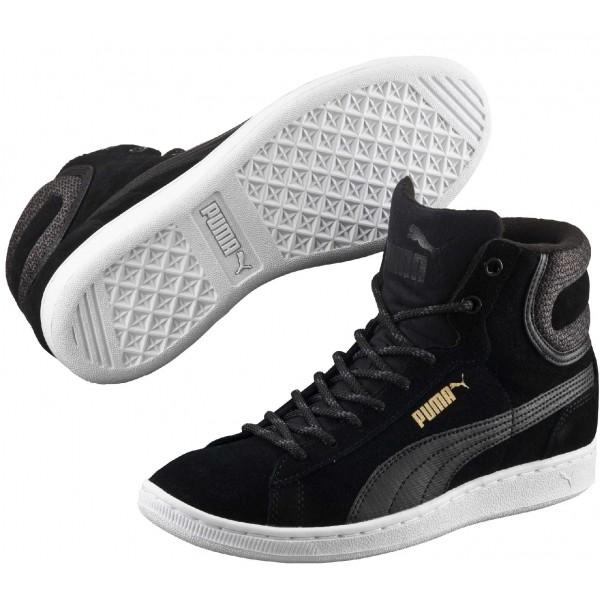 Puma VIKKY MID TWILL - Dámske vychádzkové topánky