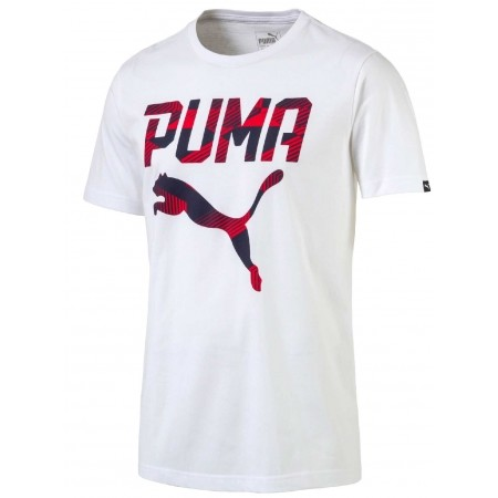 3339805ec154 Pánské tričko - Puma BRAND TEE - 1