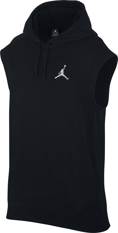 Nike FLIGHT LITE SL HOODIE. Pánská mikina Jordan bez rukávů ff23e1583c