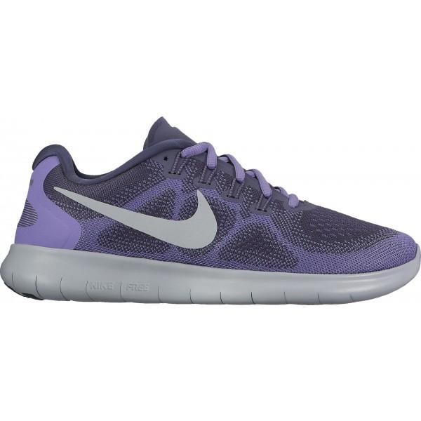 Nike FREE RN 2 W fialová 6.5 - Dámská běžecká obuv