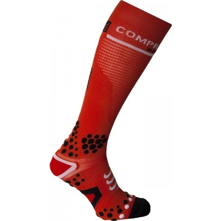 FULL SOCKS V2 – Podkolanówki - Compressport FULL SOCKS V2 - 1