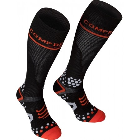 FULL SOCKS V2 – Podkolanówki - Compressport FULL SOCKS V2 - 4