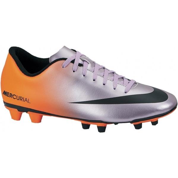 Nike MERCURIAL VORTEX FG oranžová 10 - Pánské lisovky