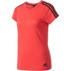 adidas ESSENTIALS 3S SLIM TEE - Tricou damă