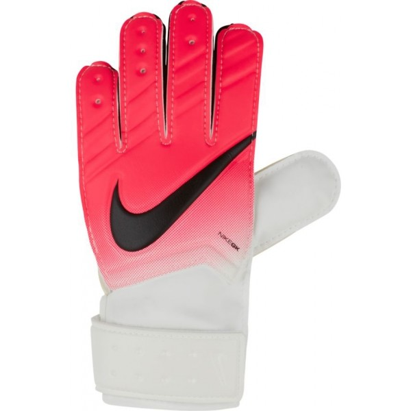 Nike JR. MATCH GOALKEEPER FOOTBALL GLOVE bílá 8 - Brankářské rukavice