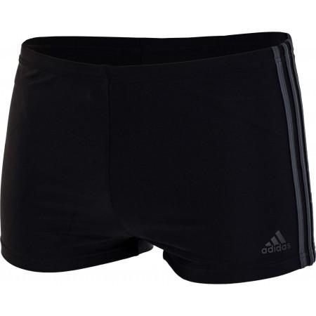 Men's swimming boxers - adidas 3 STRIPES BOXER - 1