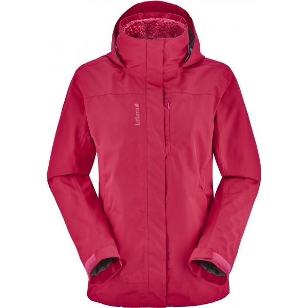 Lafuma LD ACCESS 3IN1 FLEECE JACKET rózsaszín L - Női kabát