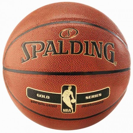 Basketbalový míč - Spalding NBA Gold - 1