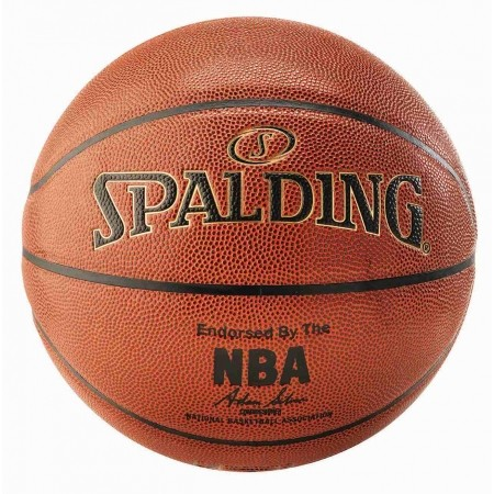 Basketbalový míč - Spalding NBA Gold - 2