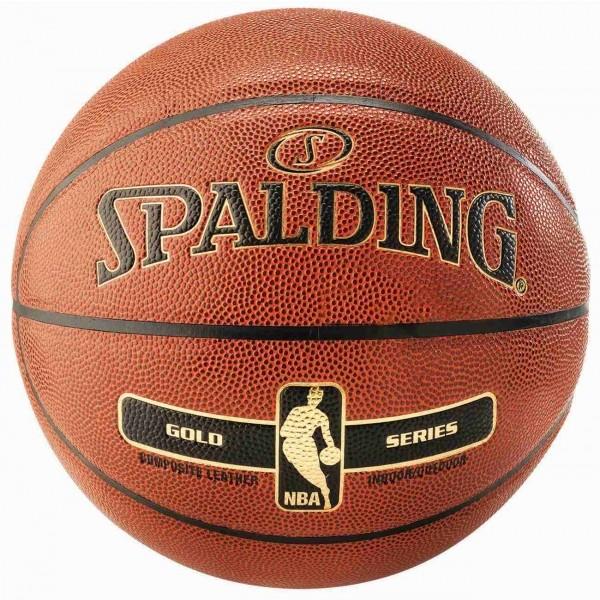 Spalding NBA Gold  6 - Piłka do koszykówki
