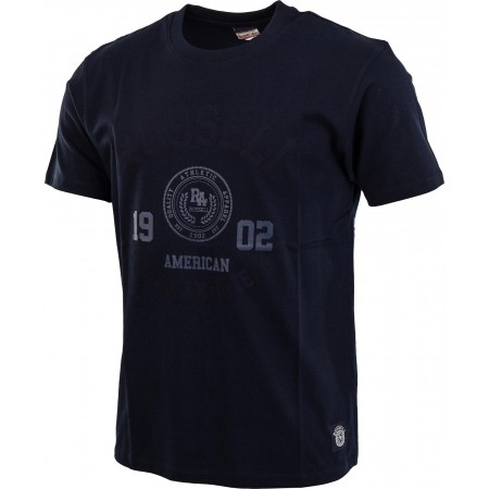 Мъжка тениска - Russell Athletic S/S CREW NECK TEE WITH ROSETTE TWILL - 5