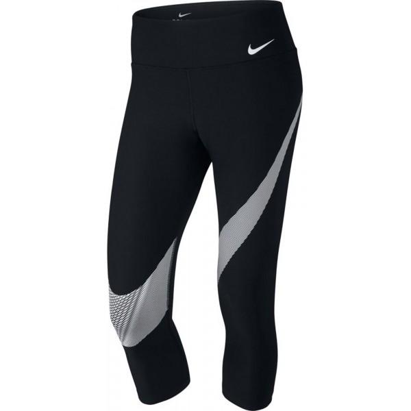 Nike PWR CPRI TI POLY SWSH GRX W czarny XL - Spodnie 3/4 damskie