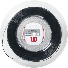 Wilson SYN GUT POWER 16 BK - Тенис кордаж