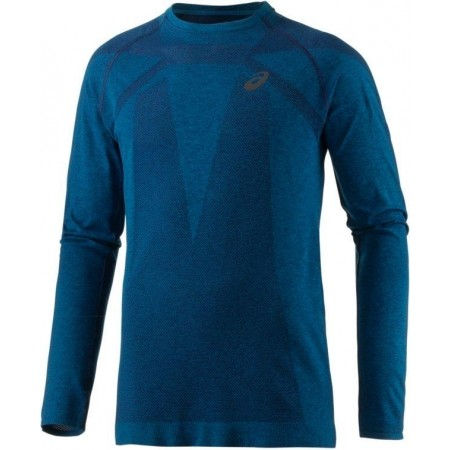 Tricou alergare bărbați - Asics SEAMLESS LS - 1