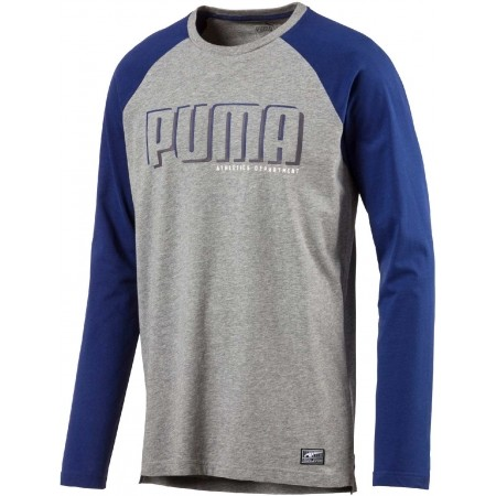 d1dcc878d8 Férfi póló - Puma STYLE ATHLETIC LS TEE - 1