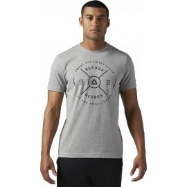 1690f790a6fc Reebok BRAND MARK TEE2 - Pánske tričko